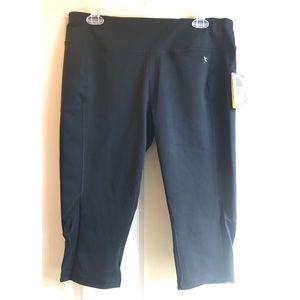 NWT Danskin Now Black Capri Leggings